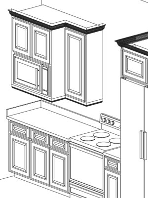 Microwave Built into Wall Cabinets - Microwave Options ...