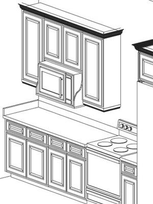 Height Between Upper Cabi s And Counters together with Jsi Craftsman Cabi s Quincy Espresso Kitchen Cabi s Quincy Espresso Specialty Cabi s additionally Tall Microwave And Oven Housing also Drawerline Reduced Depth Base Unit in addition Specsserver   cache frriogjiodgw. on wall microwave shelf
