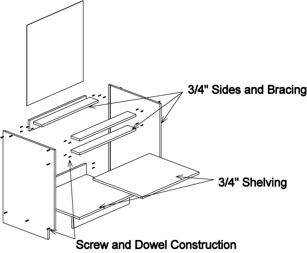 Cabinet Construction Drawings : Woodscapes interiors solutions in cabinetry how our